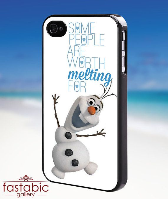 I want this for my android if anyone finds! Olaf quote frozen Disney     iPhone by fastabicgalerry on Etsy, $15.00