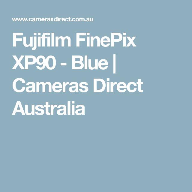 Fujifilm FinePix XP90 - Blue | Cameras Direct Australia