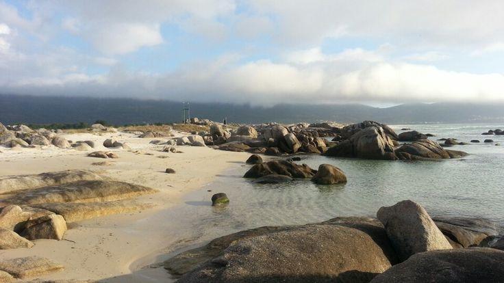 Praia de Carnota en Carnota, Galicia