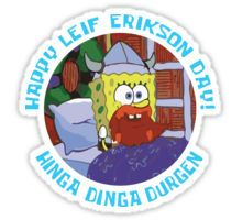 Happy Leif Erikson Day! Sticker