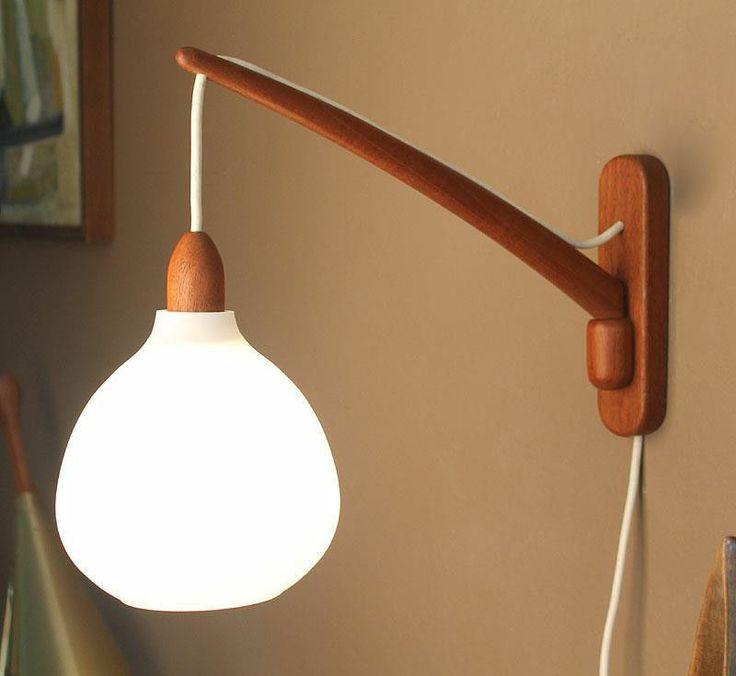 Vintage Danish Wall Lights : 98 best images about Lamper on Pinterest Ceiling lamps, Teak and Pendant lamps