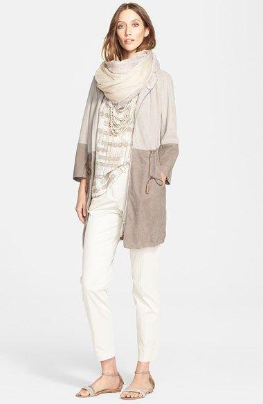 Fabiana Filippi Jacket, Blouse & Pants  available at #Nordstrom