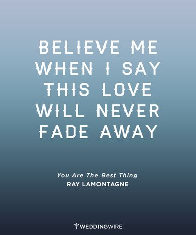 Ray Lamontagne - the king of #firstdance songs! #lovequotes
