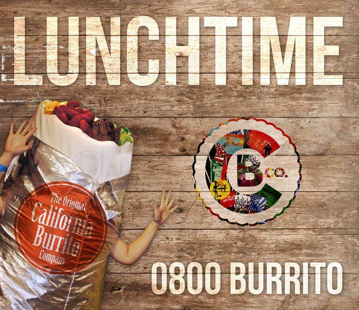 Lunchtime at California Burrito