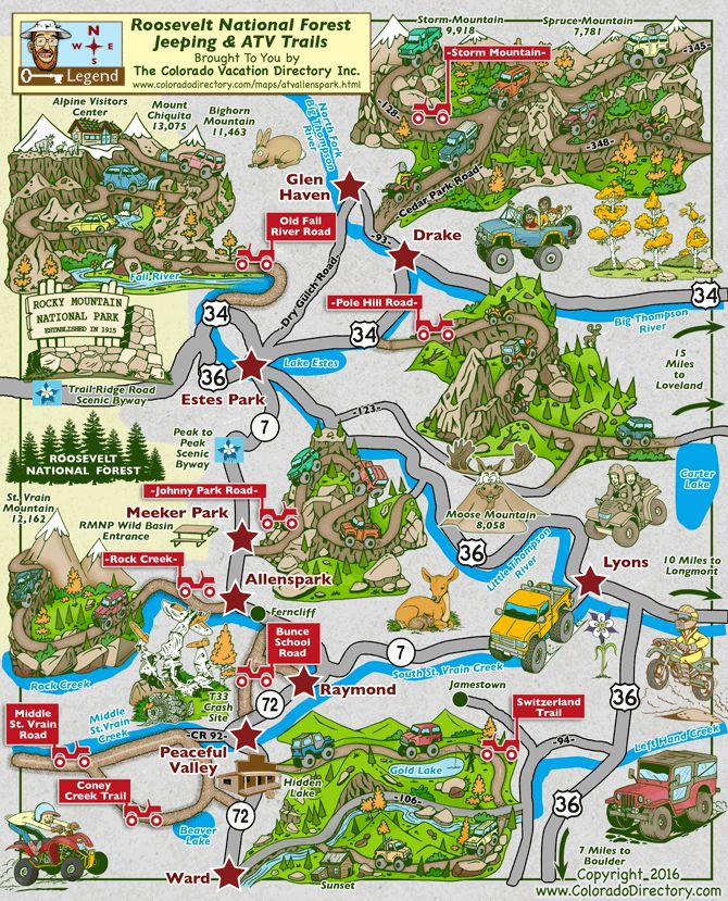 20 Best Ohv Images On Pinterest Trail Maps Colorado