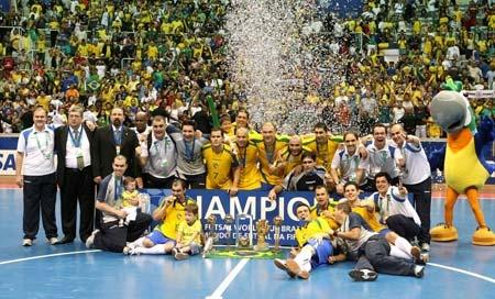 Brazil FUTSAL world champion 2008