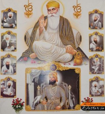 Sikh | Ten Sikh Guru wallpaper | Dastar, Turban Wallpaper and Photos | Sikh ...