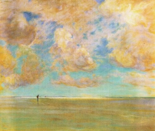 Nuvole sul Mare - Giuseppe De Nittis