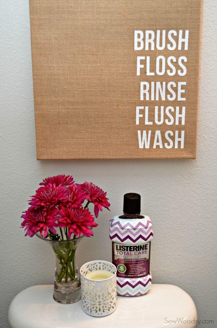 Bathroom Canvas Art: Best 25+ Burlap Bathroom Ideas On Pinterest