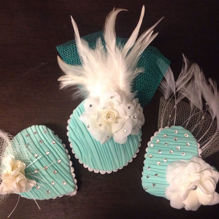 Little fascinators that I made!