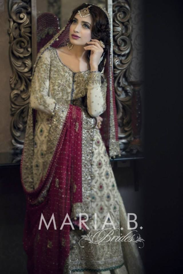 Pakistani & Indian Fashion Bridal Wedding Gowns Designs Collection 2015-2016 (3)
