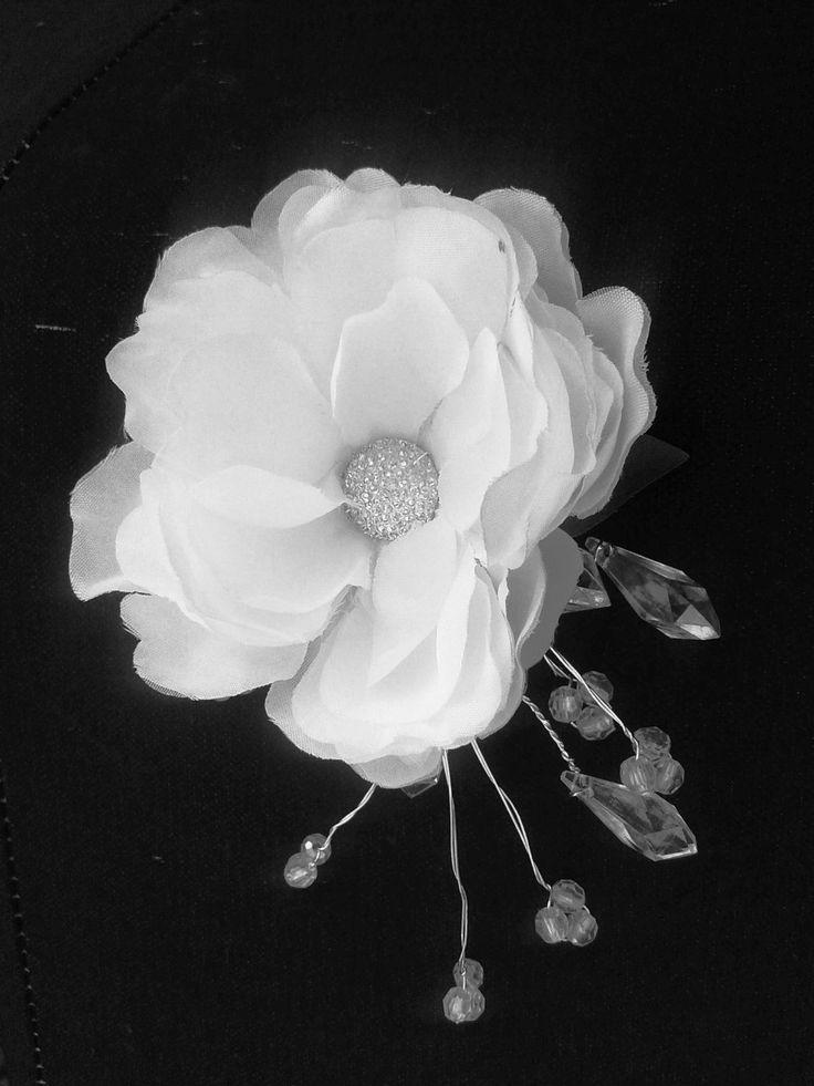 FLOWER HEADPIECE, Hair accessory, Bridal, Tropical Hair Clip, Wedding Flower, Beach, Headpiece, Fascinator, Silk flower, wedding headpiece by MalamaPuaBridal on Etsy