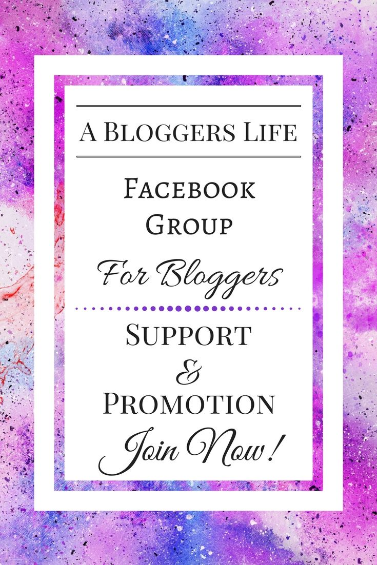 Blogger Facebook Group focusing on Blogger Support and Blog Promotion