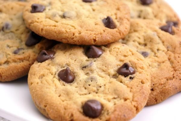 Receta de Galletas con chispas de chocolate y nueces