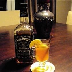 Hot toddy here s our ideal recipe 8oz hot water 1 bag for Hot tea with whiskey