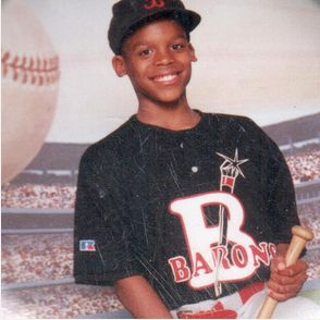 Cam Newton as a kid