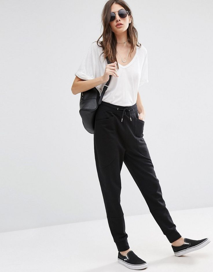 ASOS Harem Joggers with Oversized Pockets