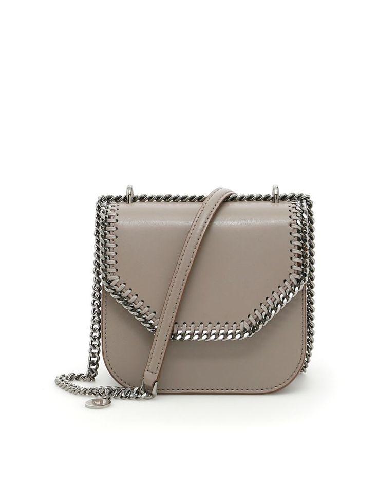 STELLA MCCARTNEY Falabella Box Shoulder Bag. #stellamccartney #bags #shoulder bags #hand bags #leather #lining #