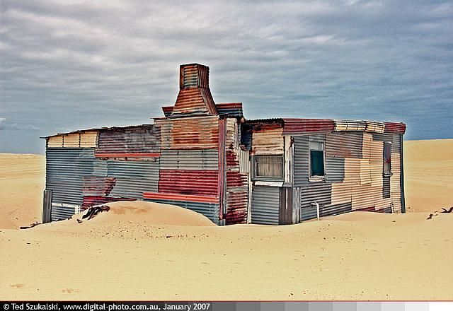 Port Stephens - Stockton Bight Sand Dunes - Tin City 3