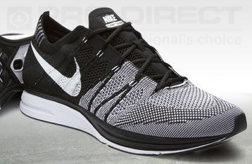Nike Flyknit Trainer+ - Black/White - Mens Running Shoes. jogging. athetlic. outfit. clothing. clothes. look. gym. workout. normcore.
