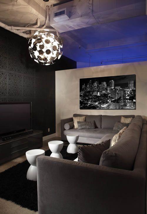 Reactiv Studio's Screening Room - LUX Interior Design