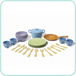 Green Toys Eco-Friendly Cookware & Dining Set - Kids Toys from MetroMum.com.au