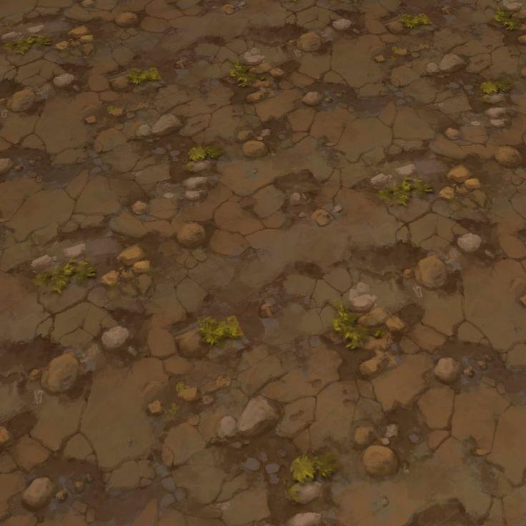 Tiling Dirt Texture, Tyler Agte on ArtStation at https://www.artstation.com/artwork/OvWEw