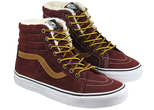 mens vans sk8-hi mountain edition trainers