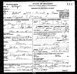Tips for Finding an Ancestor's Death Record