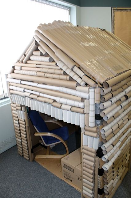 Another Crazy Kindergarten Structure - Log Cabin