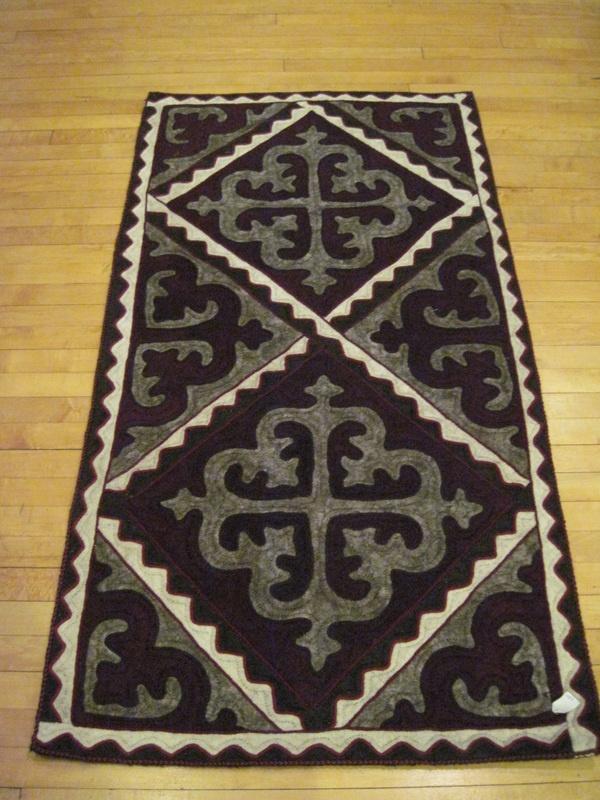 Shyrdaks (rugs) - Felt Slippers, Hats, ShyrdaksandHandicrafts from Kyrgyzstan