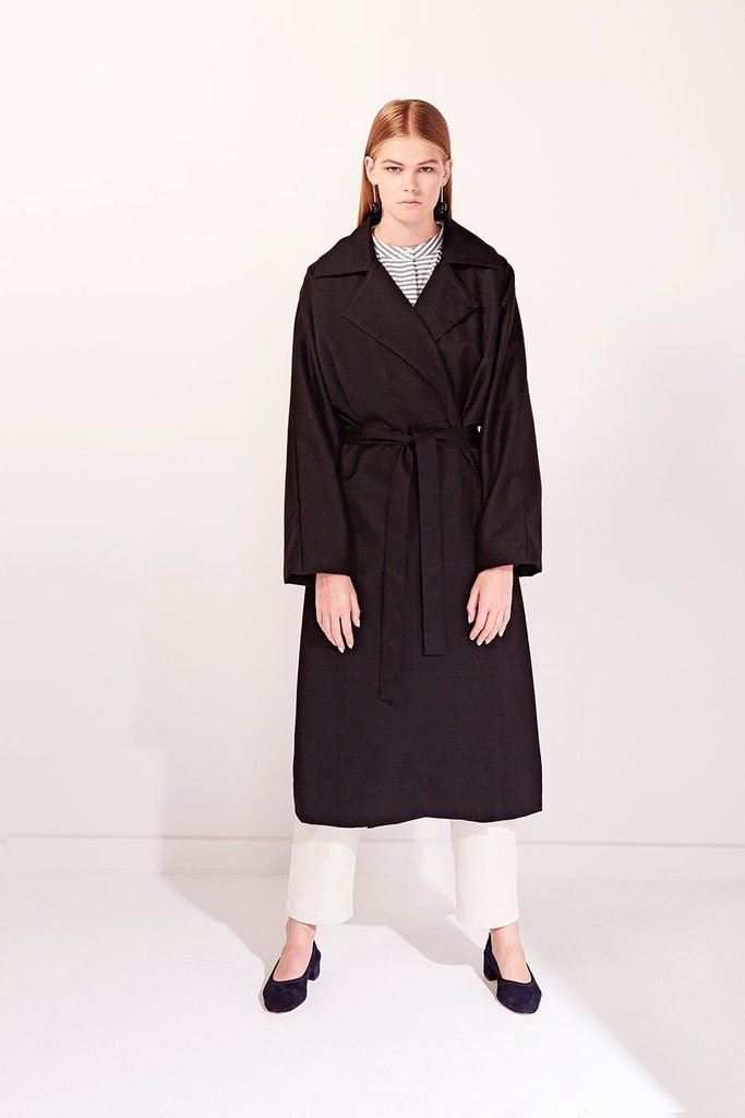 Black Coat by Kowtow   #capsule  #capsulewardrobe #dorsu