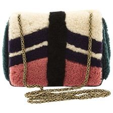 JEROME DREYFUSS Wool clutch bag