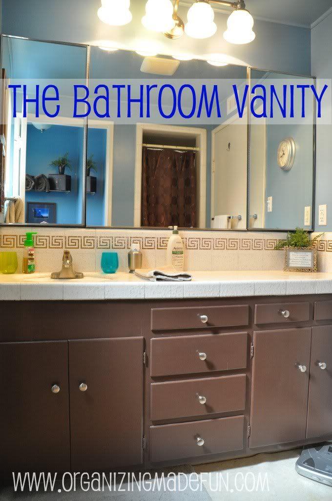 Best Bathroom Organizing Images On Pinterest Organized