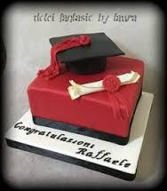 Risultati immagini per torta per laurea in economia