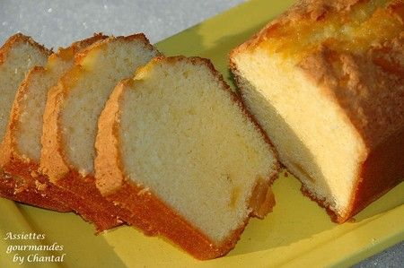 Lemon and ginger cake - cake au gingembre et citron