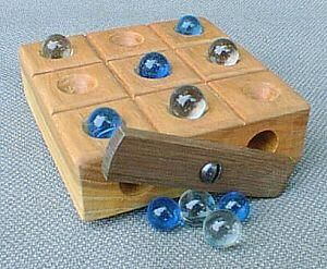 Wooden Game Boards, Unique Wood Board Game, Wood Game Boards Wooden Marble Rollers -MyUniqueWoodenToys: