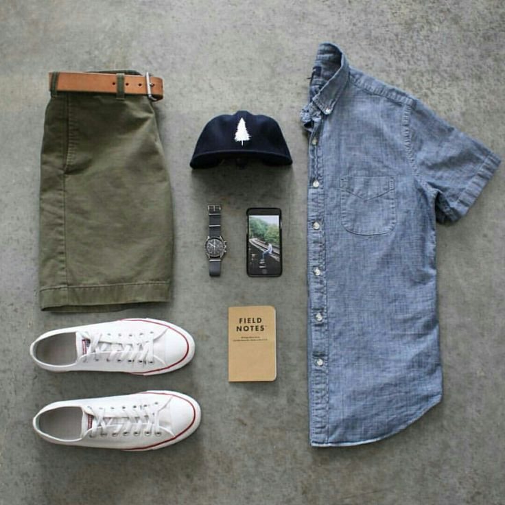 Outfit grid - Summer essentials