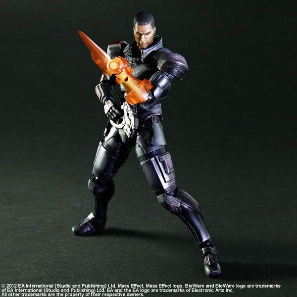 Kirin Hobby : Mass Effect 3 Play Arts Kai: Commander Shepard Action Figure 662248811796