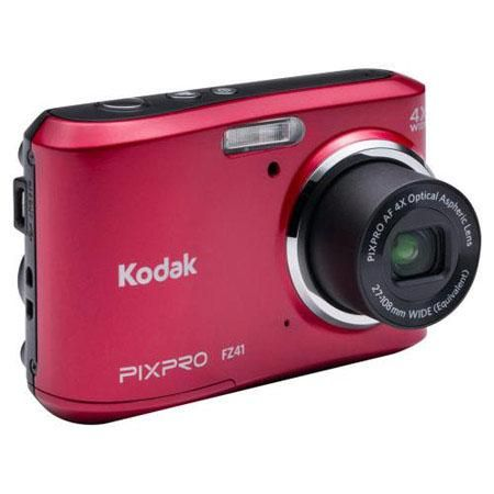 Enjoy cyber monday camera deals 2015 Kodak FZ41 Red 16 MP Digital Camera $64.88  Here is a good discount on Cyber Monday Camera Deal 2015. Consumers can get Kodak FZ41 Red 16 MP Digital Camera with 4x Optical Image Stabilized Zoom and 2.7-Inch LCD for paying $64.88 dropping from $79.99. This camera contains some outstanding features including Powerful 16.1-megapixel CCD sensor, Face Detection and Auto Exposure detects facial and AA batteries. This deal expires on 11/17/2015. Get it Now!