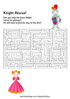 Knight maze