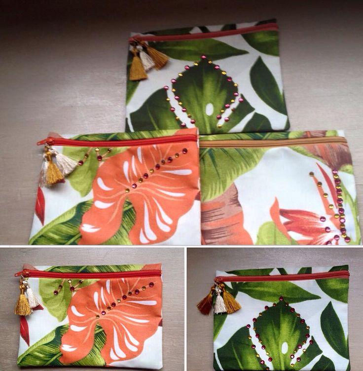 Cosmetiqueras elaboradas con telas importadas y diseños exclusivos!!!