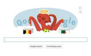 Belgium vs Algeria Google doodle remembers Paul the 'psychic' Octopus - Telegraph