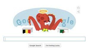 Belgium vs Algeria Google doodle remembers Paul the 'psychic' Octopus - Telegraph