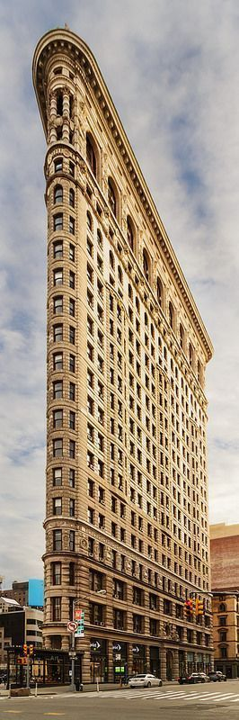 The Flatiron Building, New York City. Read about The Flatiron District's Top 10 Brunch Spots on The Culture Trip