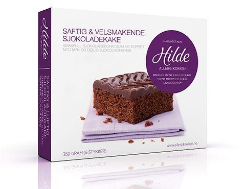 Hildekaken » Hildes sjokoladekake