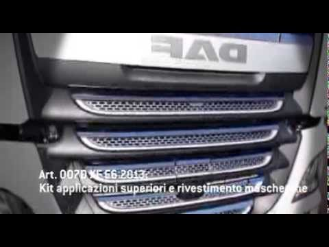 Tuning Kit in Stainless Steel by Acitoinox for New Daf Xf105 Euro 6 #dafxf105 #daf