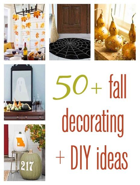 Fall Decorating, pumpkin decor, fall leaves, ghosts, spider webs, napkin rings, placecard holders.