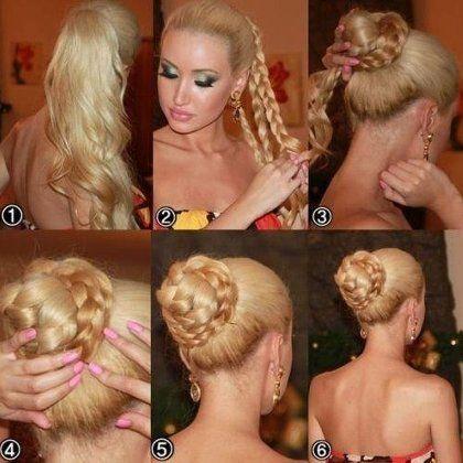 Красивые простые прически на длинные волосы на каждый день своими руками | ВолосОК