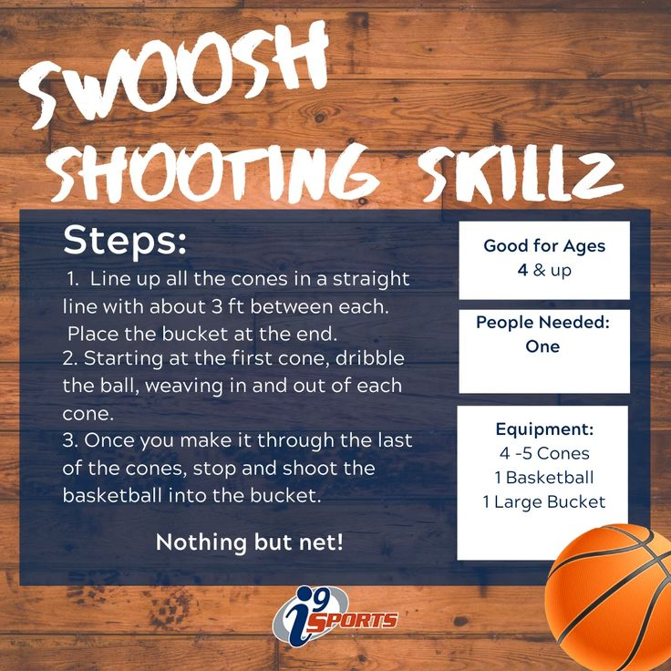 Shooting skills video by i9 Sports on At Home Drills for